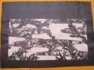 """Kirigami/Kirie/Canivet/Pa     pier  d�coup�/ Japon / """"Bambou""""Fin 19�me Si�cle          DEC21"""