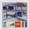 LEGO SYSTEM 1965 / 1968 PLANS CIRCUITS TRAINS, RAILS BLEU 150 à 155  / Voir SCAN PHOTOS - Plans