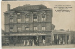 Chaumont Hotel Terminus Gare Rine  D. Delboy Mirecourt 1927 Defaut Surface En Haut Milieu - Chaumont