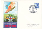 Great Britain Cover 19-10-1968 50th Anniversary Of The Royal Air Force Moorgrange C. S. Boys School Leeds With Cachet - Ohne Zuordnung