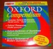 Oxfor Compendium Dictionary Thesaurus Quotations Modern Equations Édition Sur Cd-Rom - Encyclopédies