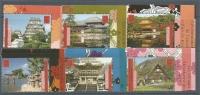 ONU GENEVE -432 à 437 - PATRIMOINE MONDIAL - JAPON - NEUF * * EN BORD DE FEUILLE - Office De Genève