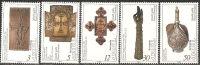 Armenia  1994  MNH**  -  Yv. 200/204 - Armenia