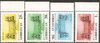 Azerbaigian  1992  MNH  -  Yv. 94/97 - Azerbaïjan