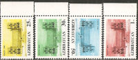 Azerbaigian  1992  MNH  -  Yv. 94/97 - Azerbaijan