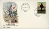1967 BATTAGLIA SUL PIAVE 1967 FDC ROMA II° TIPO - F.D.C.