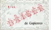 UN BAISER DE COPIERRES (95)  Carte Gaufrée - Unclassified
