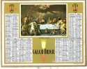 -  CALENDRIER 1961 - La Cène De Ricci.. - Calendari