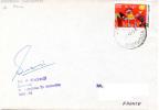Indian Antartica Expedition 1991/92. Base Dakshin Gangotri, Le 26-01-1992. Cachet Et Signature Du Chef D´exp. - Polar Philately