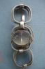 Montre Femme Argent 27,2 Grs ,L:20 Cms L: 2,2 Cms Automatique ,parfait état De Fonctionnement,années 1970 - Watches: Jewels