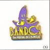 PIN´S Tourisme - Bandol / Festival De L´Humour - Banane Violette. Est.Dune. Zamac. T011-09. - Villes