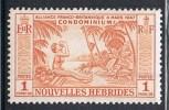 NOUVELLES-HEBRIDES N°183 N** - Leyenda Francesa