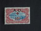 Ruanda-Urundi 1918 Rode-Kruis Croix-Rouge Surchargé Yv & COB 37 MH * - 1916-22: Mint/hinged
