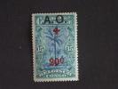 Ruanda-Urundi 1918 Rode-Kruis Croix-Rouge Surchargé Yv & COB 38 MH * - 1916-22: Mint/hinged