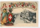 Suisse - THUN - Carte Relief - Unclassified