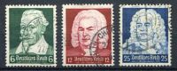 Schütz, Bach, Händel   Mi. 573-575    O/used    EUR  3   Siehe  Bild - Germania