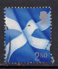 SCOTLAND GB 1999 - 2002 QE2 2nd CLASS DEFINITIVE FLAG USED STAMP SG S94... ( C51 ) - Regional Issues