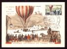 Y/T N° 1018 Sur  Carte-Maximum - Journée Du Timbre Et 85 Ième Anniversaire De La Poste Aérienne. - Maximumkarten