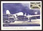 Y/T N° 1196 Sur  Carte-Maximum - Journée Du Timbre Et 20 Ième Anniv. Du Service Aéropostal. - 1950-59