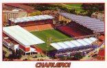 Carte De Stade De: CHARLEROI  BELGIQUE STADE DE CHARLEROI # GRB-875 - Cabarets