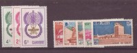 Cambodge N°114 à 118 Et 119 à 121 ** Neuf Sans Charniere - Cambodge