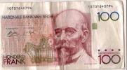 Belgique/ Billet De 100 Francs Belges/ Hendrik BEVAERT/année ?              BIL80 - Coins & Banknotes