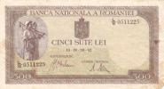 Roumanie - Romania 500 LEI 19 IV 1942. - Rumänien