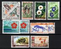 Dahomey  Between 1963 / 1970, Lot With 11 Stamps (o), Used - Bénin – Dahomey (1960-...)