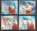 """Malta 2005 - Foglietti """"CHOGM"""" 4 V. Nuovi** - Malte"""