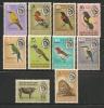 FAUNA - BIRDS - LION - BECHUANALAND PROTECTORATE - Yvert # 119/126 - MINT H - Birds