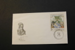 Czechoslovakia 1637 Painting By Durer Madonna With The Rose Garlands Day Of Issue Cancel 1968 A04s - FDC