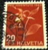 Switzerland 1943 Childrens Fund Flower Lady's Slipper 20c + 5c - Used - Used Stamps