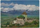 Chateau De Vaduz Timbrée 1963  Hubert Gassner No 45 Size 10 By 15 - Liechtenstein