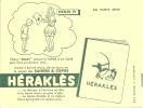 Buvard  Cahier Herakles  Henri 4 L'eleve Sully Utilisait Le Papier à La Cuve Pour Faire Ses Devoirs Mais Comme Il écrira - Stationeries (flat Articles)