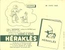 Buvard  Cahier Herakles Egypte L'eleve Raphaon  Utilisait Le Papyrus Pour Faire Ses Devoirs Mais Comme Il écrirait - Stationeries (flat Articles)