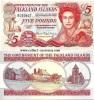 Falkland Islands 5 Pounds 2005 UNC - Falkland Islands