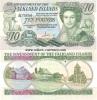 Falkland Islands 10 Pounds 1986 UNC - Falkland Islands