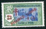INDE ßurcharge «Croix De Lorraine Et FRANCE LIBRE»  1 Ca Sur 1R Maury  248 * Charnière Légère - India (1892-1954)
