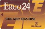 GREECE - Ergobank Debit Card, Used - Cartes De Crédit (expiration Min. 10 Ans)