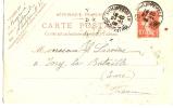 Carte Postale Sans Illustration/Algérie/Phil Ippeville/CONSTANTINE/190 9                           TIMB8 - Cartes Postales