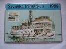 SWEDEN 1988 FULL YEAR PACK SCHWEDISCHE BRIEFMARKEN 1988 - Schweden
