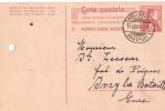 Carte Postale Sans Illustration/SUISSE/Dévou é/1909                           TIMB11 - Cartes Postales