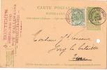 Carte Postale Sans Illustration/BELGIQUE/Bru Xelles/1910                           TIMB13 - Cartes Postales