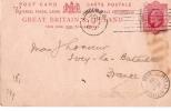 Carte Postale Sans Illustration/Grande Bretagne Et Irlande//1902                           TIMB16 - Cartes Postales