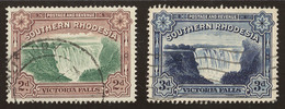 Southern Rhodesia SG# 35+ 35b Perf. 14 - Rodesia Del Sur (...-1964)
