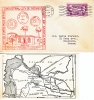 U.S. Cover  PITTSBURG, CAL. 1936  With MAP Insert - Covers & Documents