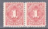 U.S. J 61 X 2  ** Perf 11  No Wmk.  1917-25 Issue - Postage Due