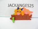 KINDER PUZZLE PLASTIC K97 N 14 1996  SANS OHNE WITHOUT BPZ - Puzzles