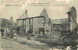 MORAINS : Maison De M. Bierry, Marchand De Porcs, Incendiée Par Le Bombardement. 2 Scans. Edition L M - France