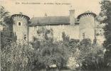 SALLE LA SOURCE : Le Château, Façade Principale. 2 Scans. - Altri Comuni